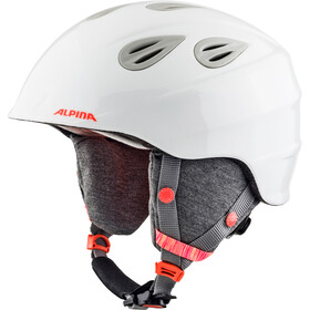 Alpina Grap 2.0 Skihelm Kinder white-flame